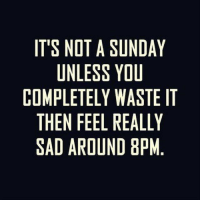 Peds: IT'S NOT A SUNDAY  UNLESS YOU  COMPLETELY WASTE IT  THEN FEEL REALLY  SAD AROUND 8PM  EY.  ELM  MUSLP  DU  OAA8  UYWED  SYLU  SLE  TEEED  OLTFR  NNE  LI N  PED  MHA  OTS