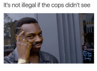 Memes, 🤖, and New World: It's not illegal if the cops didn't see  Penun A whole new world 🎶