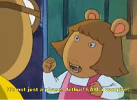 Arthur: It's not just a phase Arthur! lAM a vampire!