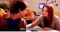 Girls, Target, and Tumblr: It's October 3rd. mad-f0r-it:  msjewbooty:  quinnlikestits:  yoursoulmysoul:  suttonmercerr:  You knew this was coming..  YES IT IS MEAN GIRLS IS STILL RELEVANT  IT'S OCTOBER 2ND  ^ Not in bloody Australia, MATE.