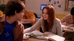 Irl, Me IRL, and October: It's October 3rd. me irl