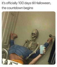 Anaconda, Countdown, and Dank: it's officially 100 days till Halloween,  the countdown begins Les get spooky up in hurrrrrr