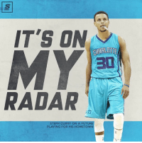 Memes, Prince, and Vegeta: IT'S ON  CHARLOTTE  RADAR  STEPH CURRY ON A FUTURE  PLAYING FOR HIS HOMETOWN Bebe Curry to Hornets? Kemba - Cury tandem pag nagkataon  (C) The Score  Prince Vegeta
