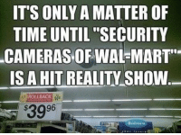 """ITS ONLY A MATTER OF  TIME UNTIL """"SECURITY  CAMERAS OF WAL-MART  IS A HIT REALITY SHOW  ROLLBACK  3996  Bedraom"""
