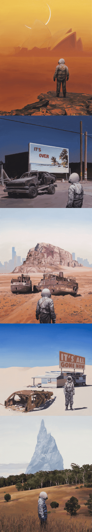 nevver:Fury Road, Scott Listfield (because): IT'S  OVER   IT'S ALL  GONE NOW nevver:Fury Road, Scott Listfield (because)