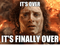 When you are finally done with the terrible TP you bought on accident.: IT'S OVER  IT'S FINALLY OVER  quickmeme com When you are finally done with the terrible TP you bought on accident.