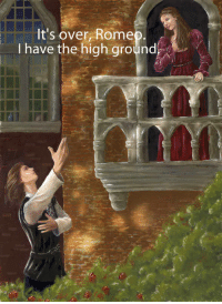 Rome, High, and Over: It's over, Rome  I have the high ground