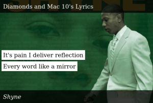 All Shyne lyrics A-Z