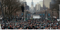 Philadelphia Eagles, Memes, and Live: It's Parade Day in Philadelphia. And everyone is READY: https://t.co/w65LM3MVWR  📺: LIVE @Eagles Championship Parade Coverage begins at 11am EST on @nflnetwork! https://t.co/DWRsvcJB9j