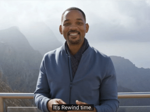 When you mess up the code so bad you have to press CTRL + Z 20 times to get back to the working version: It's Rewind time. When you mess up the code so bad you have to press CTRL + Z 20 times to get back to the working version
