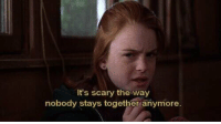 The Parent Trap: It's scary the way  nobody stays together anymore. The Parent Trap