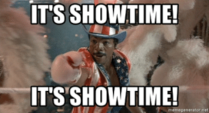 Image result for it's showtime apollo creed