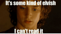 Asks, Code, and You: It's some kind of elvish  I can't read it When someone asks you to explain what your code from a month ago does