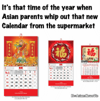 It's that time of the year when  Asian parents whip out that new  Calendar from the supermarket  11 12 13 14 ns 16  18 13 20 21 22 23 24  11 12  13 14 15 16 17  4, 5 6. 7, 8. 9, 19  18, 19.20, 21, 22 23.  125. 26 27, 28 29 30  12  13 14 15 16  Stamping Calendar  18 19 20  21  23  25  26, 27. 29 30  Hitt Stamping Medium Wall Calendar  IGaAsiansNeverbie  Hot Stamping Wall Calendar 💢Happy New Years Eve everyone!! Did your supermarket give out these calendars every year? 😂😂 Also the daily tear out ones where no one actually tears it out for weeks 😂😂 nye 2017 newyearnewme asiansbelike growingupasian asians asiansneverdie aznneverdie asianguy asianmen Asiangirl asiangirls followme meme memes Chinese Vietnamese Cambodian Khmer Lao Hmong Filipino Thai Korean Japanese Taiwanese Mien Singaporean Malaysian Indonesian