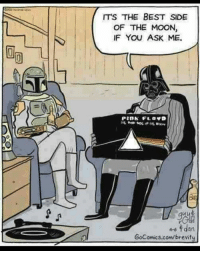(Y) The Metal Punk Strikes Back: ITS THE BEST SIDE  OF THE MOON,  IF YOU ASK ME.  PIDA FL, DVD  4-6 rdan  GoComics.com/brevity (Y) The Metal Punk Strikes Back
