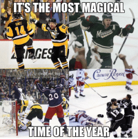 Logic, Memes, and National Hockey League (NHL): ITS THE MOST MAGTCAI  onhi ref logic  TIME OF THE I tried to follow all 16 NHL teams for the playoffs but the Ducks blocked me last year