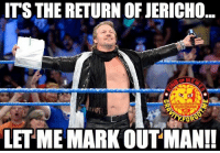 @chrisjerichofozzy remember when you used to follow me?... bring that day back maaannn!!! chrisjericho wrestling prowrestling professionalwrestling meme wrestlingmemes wwememes wwe nxt raw mondaynightraw sdlive smackdownlive tna impactwrestling totalnonstopaction impactonpop boundforglory bfg xdivision njpw newjapanprowrestling roh ringofhonor luchaunderground pwg: ITS THE RETURN OF JERICHO  FORS  LET ME MARK OUT MAN!! @chrisjerichofozzy remember when you used to follow me?... bring that day back maaannn!!! chrisjericho wrestling prowrestling professionalwrestling meme wrestlingmemes wwememes wwe nxt raw mondaynightraw sdlive smackdownlive tna impactwrestling totalnonstopaction impactonpop boundforglory bfg xdivision njpw newjapanprowrestling roh ringofhonor luchaunderground pwg