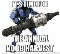 Memes, 🤖, and Noob: ITS TIME FOR  THE ANNUAL  NOOB HARVEST Christmas is coming