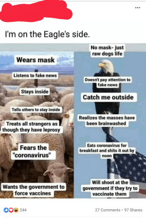 It's Time to Be Eagles not Sheep!: It's Time to Be Eagles not Sheep!