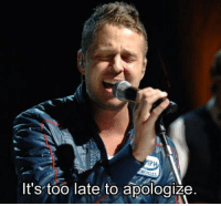 [c] One Republic with Timbaland - Apologize: It's too late to apologize. [c] One Republic with Timbaland - Apologize