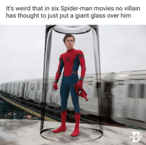 Movies, Spider, and SpiderMan: It's weird that in six Spider-man movies no villain  has thought to just put a giant glass over him  THE DALD memecage:  Remember that old movie?