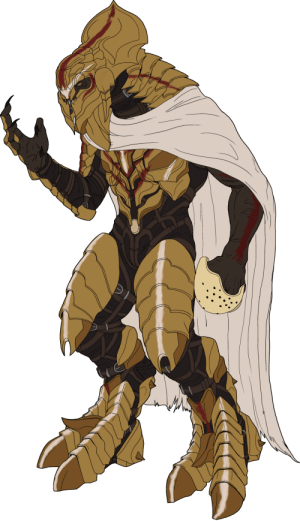 itsalwaysgarytime:  This piece is not finished and will be updated to be a complete piece!! After  New Year's I got hit by a Big Art Block (as is the case it seems with  every New Year's…. must be alcohol's fault)  So I decided to start  learning The Kaidon's new armor he wears in the Reclaimer Saga of Halo.  So here is the badass Keith David voiced Sangheili Warrior Ruler!                                                                                                                                                          : itsalwaysgarytime:  This piece is not finished and will be updated to be a complete piece!! After  New Year's I got hit by a Big Art Block (as is the case it seems with  every New Year's…. must be alcohol's fault)  So I decided to start  learning The Kaidon's new armor he wears in the Reclaimer Saga of Halo.  So here is the badass Keith David voiced Sangheili Warrior Ruler!