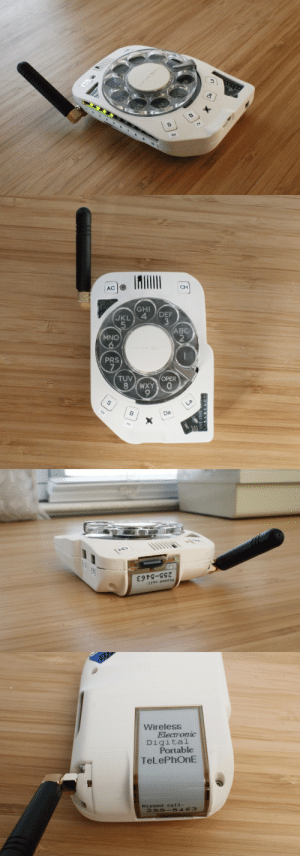 itscolossal:  An Anti-Smartphone With a Rotary Designed and Built by Space Engineer Justine Haupt   BOOMER 100: itscolossal:  An Anti-Smartphone With a Rotary Designed and Built by Space Engineer Justine Haupt   BOOMER 100