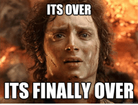 ITSOVER  ITS FINALLY OVER  quickmeme.com When my 10 month old son goes finally goes to sleep after an afternoon with no nap...