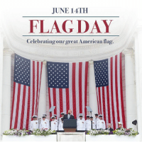 Today we celebrate the ideals of our country's founding, which are represented so proudly by the broad stripes and bright stars on our GREAT American flag!: IUNE 14TH  FLAG DAY  Celebrating our great American flag Today we celebrate the ideals of our country's founding, which are represented so proudly by the broad stripes and bright stars on our GREAT American flag!