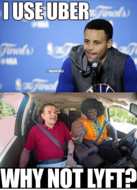 Steph Curry vs. Shaquille O' Neal.  Full Details: bit.ly/ShaqONealLyft bit.ly/StephCurryUber: IUSEUBER  ONBAMEMES  WHY NOTV FIP Steph Curry vs. Shaquille O' Neal.  Full Details: bit.ly/ShaqONealLyft bit.ly/StephCurryUber