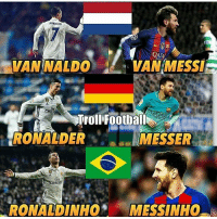 Ronaldo and Messi 😂😂 LINK IN OUR BIO!!!⚡️ [AZR]: IVAN WALDO  RONALDO  WAN MESSI  Troll Football  RONALDER  MESSER  irate  RONALDINHO  MESSINHO Ronaldo and Messi 😂😂 LINK IN OUR BIO!!!⚡️ [AZR]