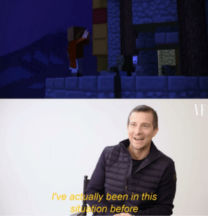 Bear Grylls' been through it all: I've actually been in this  situation before  SI Bear Grylls' been through it all