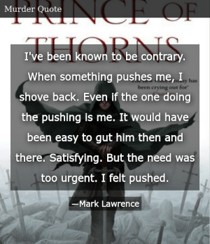 Mark lawrence quotes