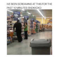 Memes, Been, and 🤖: IVE BEEN SCREAMING AT THIS FOR THE  PAST 10 MINUTES SNDKKDKD  Snacks  Low Price  68  Pac  624