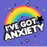 Anxiety, Earth, and Tattoo: IVE GOT  ANXIETY Got a tattoo recently. The artist wanted to know how on Earth I could be so tough as to sit through four hours without a single movement.