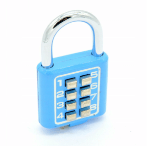 I've got one of those locks, it has a factory set code that you can't change and guess what. My code is 1234 this is extremely infuriating because I'm making an escape room and now during lockdown I can't get a new one.: I've got one of those locks, it has a factory set code that you can't change and guess what. My code is 1234 this is extremely infuriating because I'm making an escape room and now during lockdown I can't get a new one.