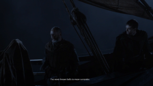 Common, Mean, and Common Sense: I've never known bells to mean surrender. It was not madness, just common sense (The rewatch was painful after s8)