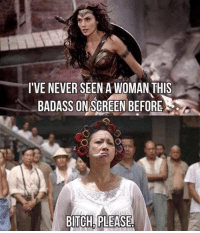 Bitch, Bitch Please, and Badass: I'VE NEVER SEEN A WOMAN THIS  BADASS ON SGREEN BEFORE  BITCH PLEASE Kung Fu Hustle