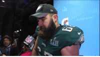 "Journey, Memes, and Best: ""I've officially accomplished the best thing in this sport with a group of guys that mean the world to me.""  An emotional Jason Kelce reflects on his journey in becoming a @SuperBowl champion. #FlyEaglesFly #SBLII https://t.co/rJ3F075x9P"