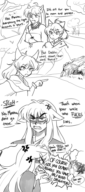 ivytooru:  if i dont get a scene like this in the sequel its not inuyasha: ivytooru:  if i dont get a scene like this in the sequel its not inuyasha