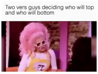 Twitter, Grindr, and Decisions: Iwo vers guys deciding who will top  and who will bottom DECISIONS 🤔 (twitter | shookshack)
