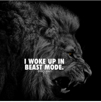"Goals, Memes, and Today: IWOKE UP IN  BEAST MODE Goals for today ? ""Tell me below"" successes"