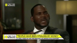 """Hey Steph Curry, how many points did you have in the first half?""  Curry: https://t.co/IMLTsLWJE9: @jǐORNiNĞ  CBS THIS ""PEOPLE HAVE BEEN STEALING MY MONEY""  MORNING  R. KELLY BACK IN JAIL FOR $160,000+ IN UNPAID CHILD SUPPORT ""Hey Steph Curry, how many points did you have in the first half?""  Curry: https://t.co/IMLTsLWJE9"