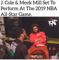 Meek Mill is set to open the 2019 NBA All-Star Game by performing as the All-Star teams and players are introduced. ⁣ -⁣ The NBA also announced that J. Cole will be performing at the All-Star Halftime show this year.⁣ -⁣ Also, the national anthem will be performed by Anthony Hamilton at the NBA All-Star Game which will be taking place Feb. 17th In Charlotte, North Carolina.⁣ -⁣ RapTVSTAFF: @thatkidcm⁣ 📷 @meekmill⁣: J. Cole & Meek Mill Set To  Perform At The 2019 NBA  All-Star Game. Meek Mill is set to open the 2019 NBA All-Star Game by performing as the All-Star teams and players are introduced. ⁣ -⁣ The NBA also announced that J. Cole will be performing at the All-Star Halftime show this year.⁣ -⁣ Also, the national anthem will be performed by Anthony Hamilton at the NBA All-Star Game which will be taking place Feb. 17th In Charlotte, North Carolina.⁣ -⁣ RapTVSTAFF: @thatkidcm⁣ 📷 @meekmill⁣
