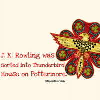Did you know this? Comment 😏 if you did and 😮 if you didn't . . . . . . . . __________________________________________________ __________________________________________________ hogwartsishome harrypotter potter potterhead wizardingworld wizardingworldofharrypotter gryffindor hufflepuff slytherin ravenclaw hogwarts hogwartsismyhome hermione sharethemagic hermionegranger ronweasley lordvoldemort voldemort harrypotterfacts hpfacts snape dracomalfoy nevillelongbottom hp jkrowling fandom emmawatson fantasticbeasts fbawtft: J. K. Rowling was  Sorted into Thunderbird  House on Pottermore  othequibblerdaily Did you know this? Comment 😏 if you did and 😮 if you didn't . . . . . . . . __________________________________________________ __________________________________________________ hogwartsishome harrypotter potter potterhead wizardingworld wizardingworldofharrypotter gryffindor hufflepuff slytherin ravenclaw hogwarts hogwartsismyhome hermione sharethemagic hermionegranger ronweasley lordvoldemort voldemort harrypotterfacts hpfacts snape dracomalfoy nevillelongbottom hp jkrowling fandom emmawatson fantasticbeasts fbawtft