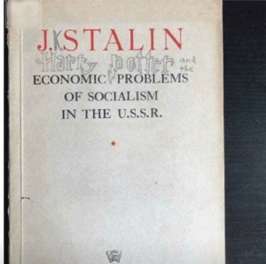 Socialism, Economic, and Hmmm: J.KS TALIN  Harty poer  and  +he  ECONOMIC PROBLEMS  OF SOCIALISM  IN THE U.S.S.R. hmmm