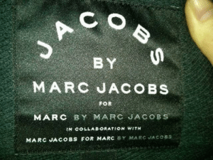 Thanks, I hate Marc Jacobs: JA  BY  MARC JACOBS  FOR  MARC BY MARC JACOBS  IN COLLAB ORATION WITH  MARC JACOBS FOR MARC BY MARC JACO8S  B S Thanks, I hate Marc Jacobs