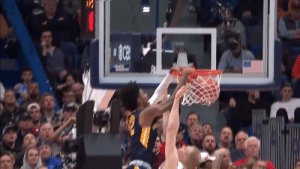 Dunk, Memes, and Nasty: JA MORANT!   17 PTS 5-9 FG 2-2 3PT 5-5 FT 16 AST 11 REB 1 NASTY POSTER DUNK  Via @marchmadness https://t.co/C76y6lVNSy