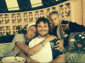 Addicted, Black, and Jack Black: Jack black adopting two South African Drug addicted orphans (circa 2009)
