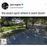 Jack Wagner, Trendy, and Down: jack wagner  @jackdwagner  the exact spot where it went down sacred ground. we should put a statue there